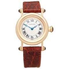 Cartier Diablo Yellow Gold 1440 W1507551 Wristwatch