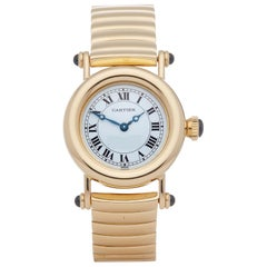 Cartier Diabolo 1440 Ladies Yellow Gold Watch
