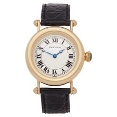 Cartier Diabolo 1460 Ladies Yellow Gold Mechanique Watch