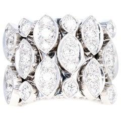 Cartier Diadea 18 Karat White Gold Diamond Ring