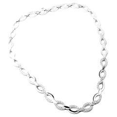 Cartier Diadea Diamond White Gold Necklace