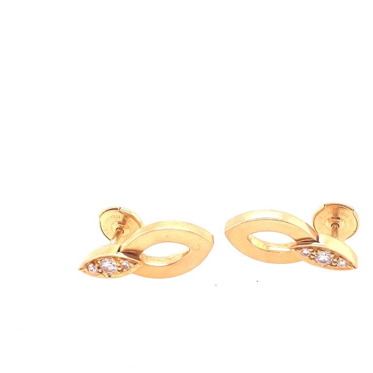 Brilliant Cut Cartier Diadea Earrings For Sale