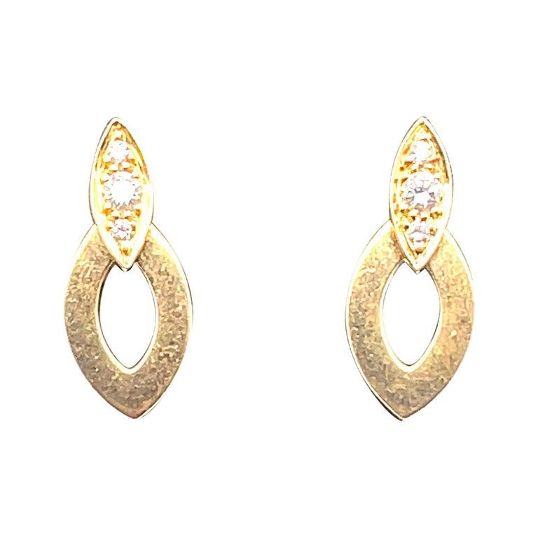 Cartier Diadea Earrings For Sale