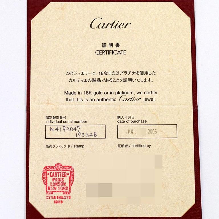Cartier Diamond 18 Karat White Gold Himalia Ring For Sale 3