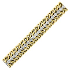 Cartier Diamond and Gold Bracelet