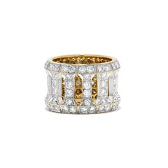 Cartier Diamond and Yellow Gold Ring