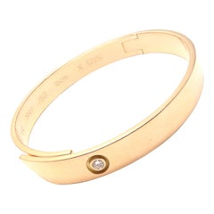 Cartier Diamond Anniversary Rose Gold Bangle Bracelet