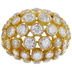 Cartier Diamond Bombe Ring