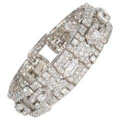 Cartier Diamond Bracelet, circa 1930