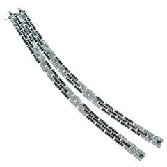Cartier Diamond Bracelets, French, circa 1990