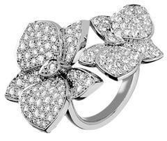 Cartier Diamond Caresse D'Orchidees Ring
