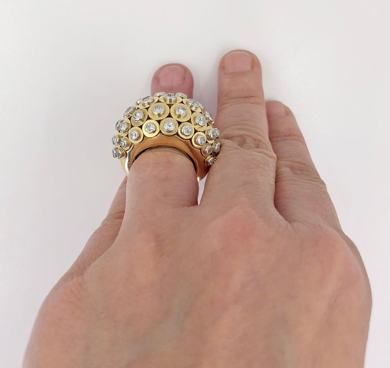 Cartier Diamond Dome Ring For Sale 1