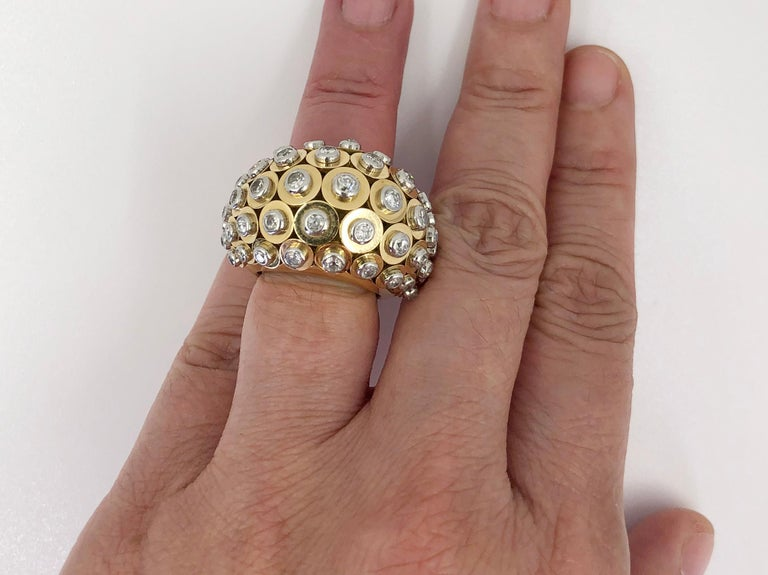 Cartier Diamond Dome Ring For Sale 2