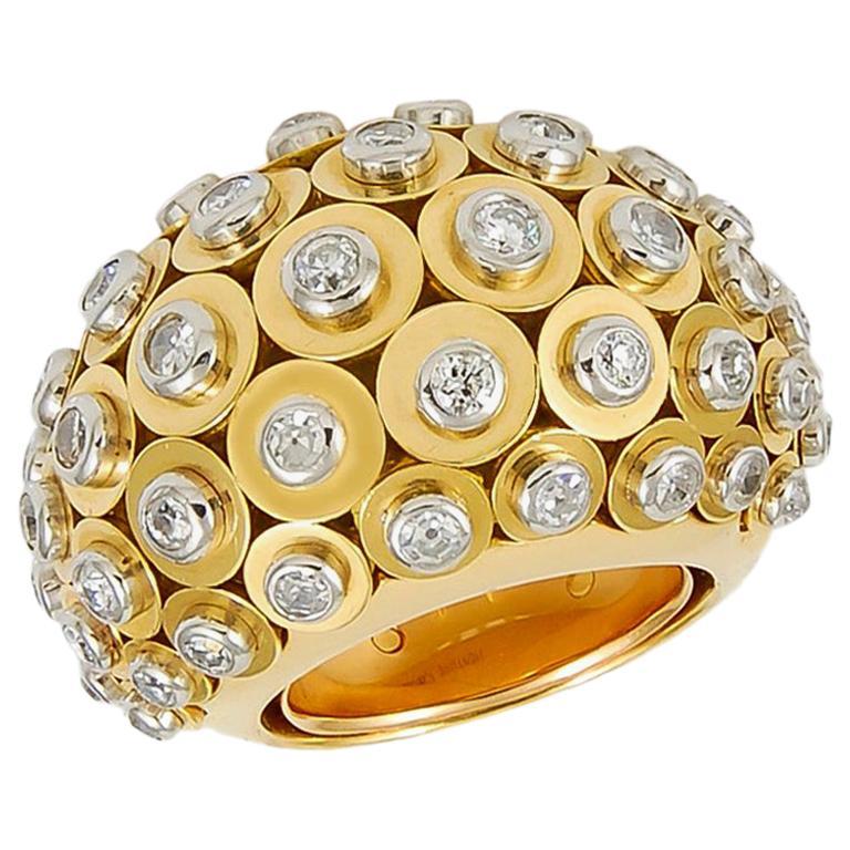 Cartier Diamond Dome Ring