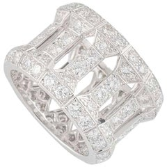 Cartier Diamond Dress Band Ring