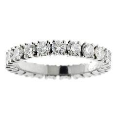 Cartier Diamond Eternity Platinum Ring