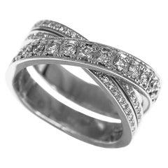 Cartier Diamond Etincelle de Cartier Ring 18 Karat White Gold