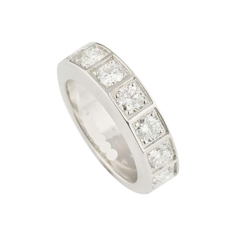 Cartier Diamond Half Eternity Ring 1.05 Carat
