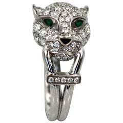 Cartier Diamond Head Panthere Ring