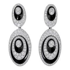 Cartier Diamond Hypnose Pendant Earrings