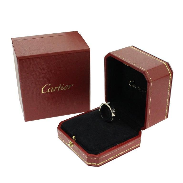 Women's or Men's Cartier Diamond Love Ring For Sale