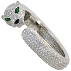 Cartier Diamond Panthere Bracelet 15.74 Carat