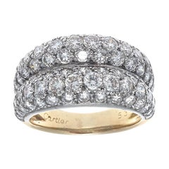Cartier Diamond Platinum Ring