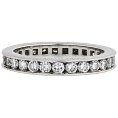 Cartier Diamond Wedding Band with Round Cuts 3.00 Carat