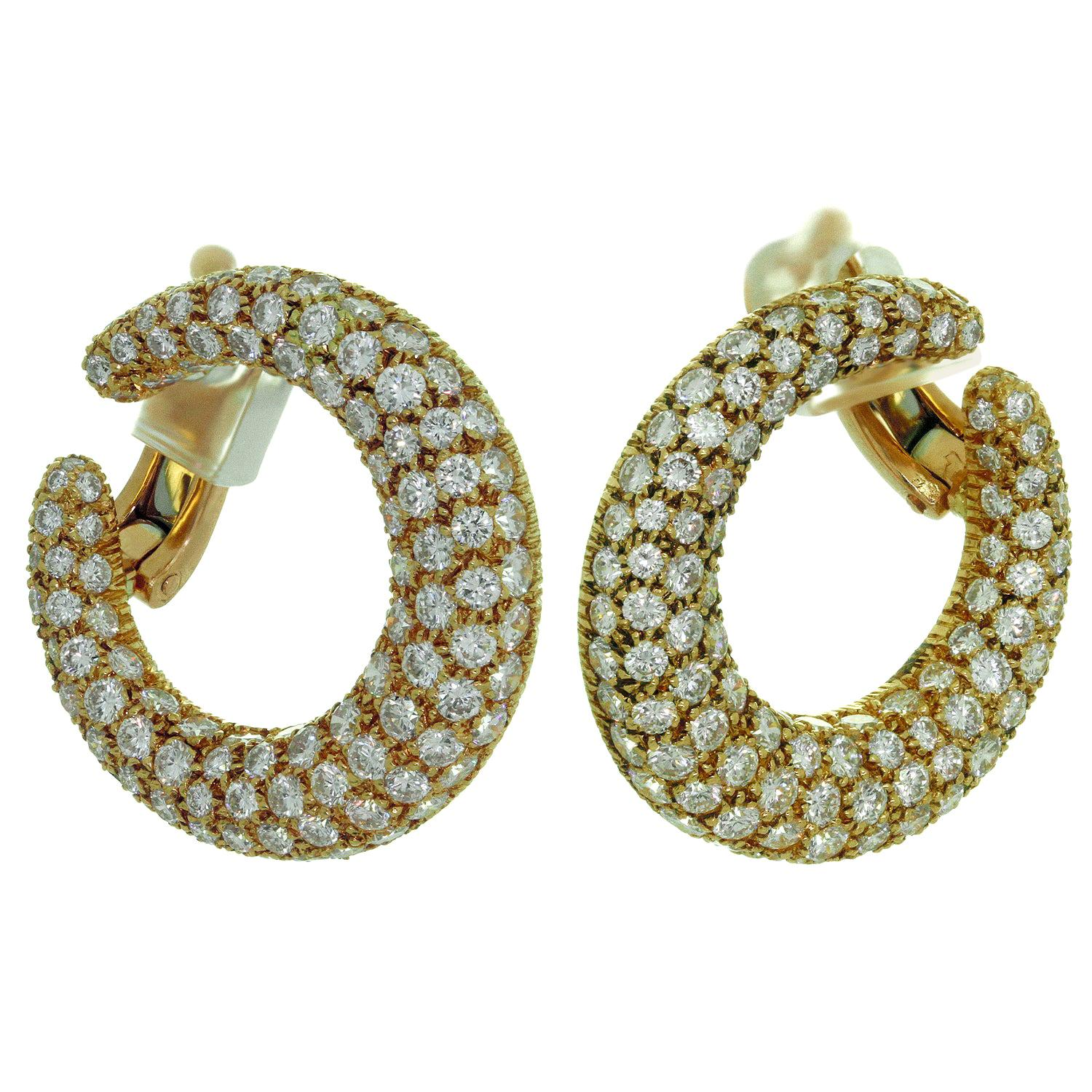 8df85bf5e Diamond, Antique and Vintage Earrings - 21,373 For Sale at 1stdibs