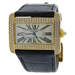 Cartier Divan Gold Diamond Watch WA301071