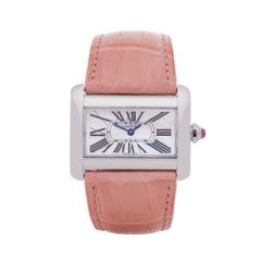 Cartier Divan Stainless Steel 2599 Wristwatch