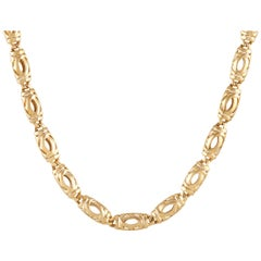 Cartier Double C 18K Yellow Gold Necklace