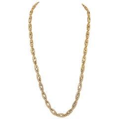 """Cartier Double """"C"""" Bracelet/Necklace"""