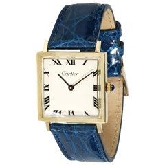 Cartier Dress 870 Women's Watch in 14kt Yellow Gold