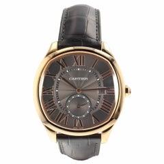 Cartier Drive 18 Karat Rose Gold Automatic Watch WGNM0004 Complete 2018