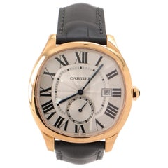 Cartier Drive de Cartier Automatic Watch Rose Gold and Alligator 41