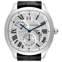Cartier Drive Retrograde Chronograph Steel Men's Watch WSNM0005