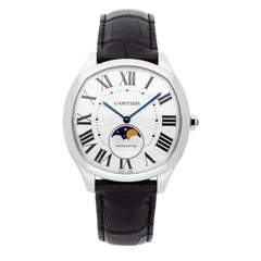 Cartier Drive WSNM0008 Herren Automatik Mondphase Edelstahl Uhr