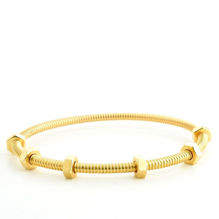 Cartier Ecrou Yellow Gold For Sale 1