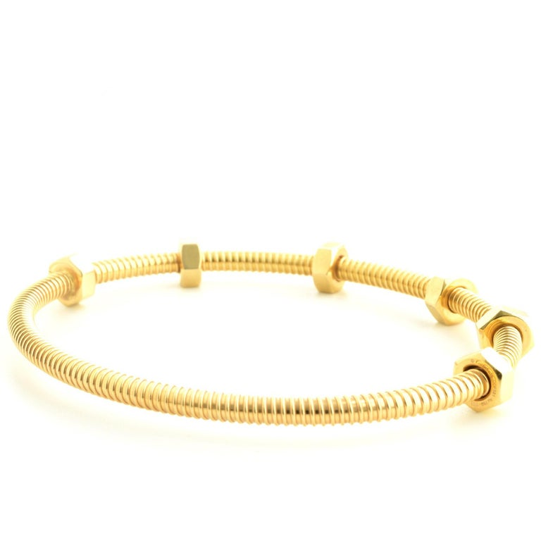 Cartier Ecrou Yellow Gold For Sale 2