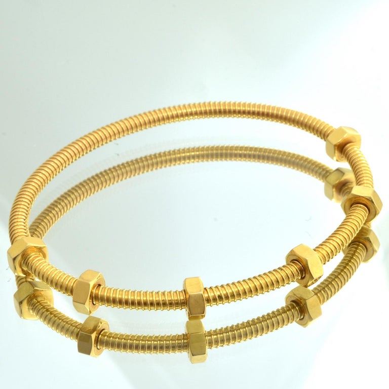 Cartier Ecrou Yellow Gold For Sale 3
