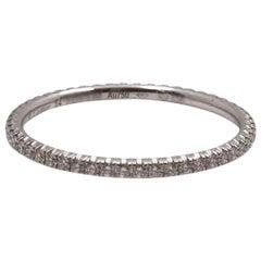 Cartier Étincelle De Cartier White Gold Diamond Wedding Band