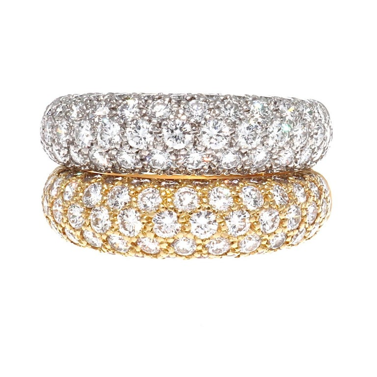 Cartier Etincelle Diamond Gold Band In Excellent Condition In Beverly Hills, CA