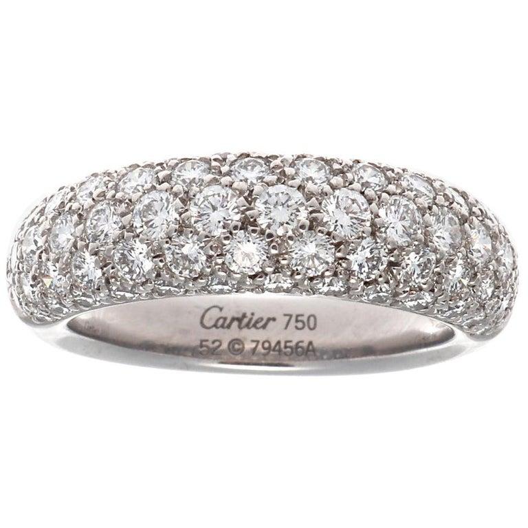 Cartier Etincelle Diamond Gold Band