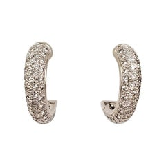 Cartier 'Etincelle' Gold and Diamond Earrings