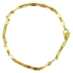 Cartier Figaro Links Chain Yellow Gold Bracelet