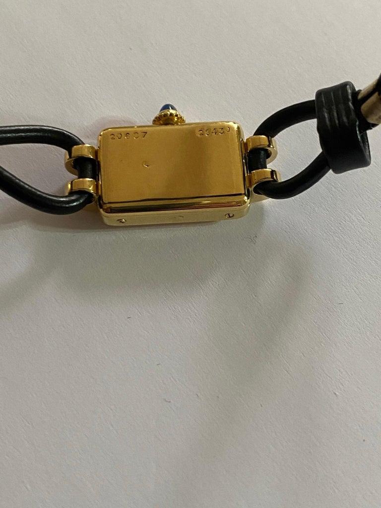 Cartier France, Yellow Gold Ladies Wristwatch, 1930s Art Deco Eur Watch & Co For Sale 2