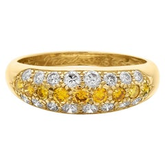 Cartier Love Etincelle, Fancy Yellow Diamond Wedding/Engagement/Eternity Ring
