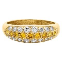Cartier Love Etincelle, Yellow Diamond Wedding/Engagement/Eternity Ring