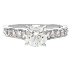 Cartier GIA Certified Diamond Ring